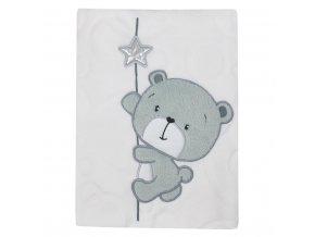 Detská deka Koala Cute Darling biela