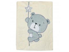 Detská deka Koala Cute Darling béžová