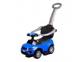 Detské hrajúce vozítko 3v1 Bayo Sport Car blue