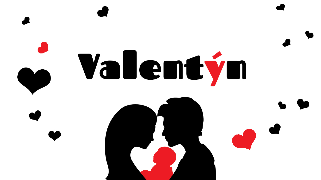 První Valentýn ve třech