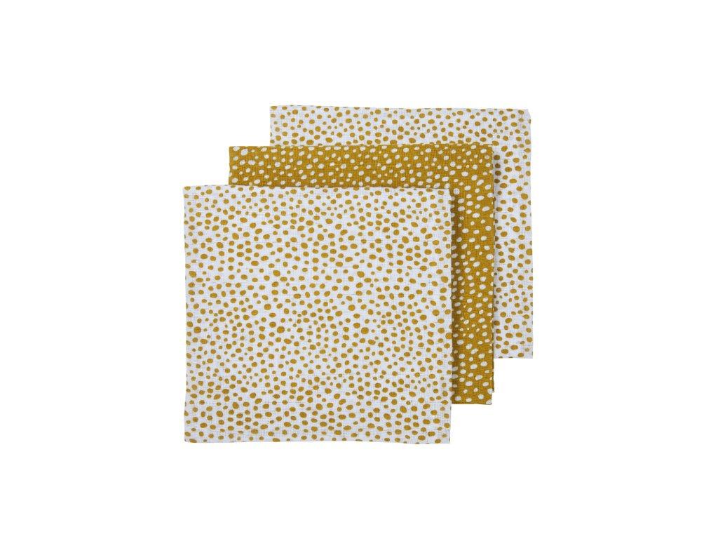 452037 Meyco hydrofiele luiers cheeta honey goldkopie 70x70