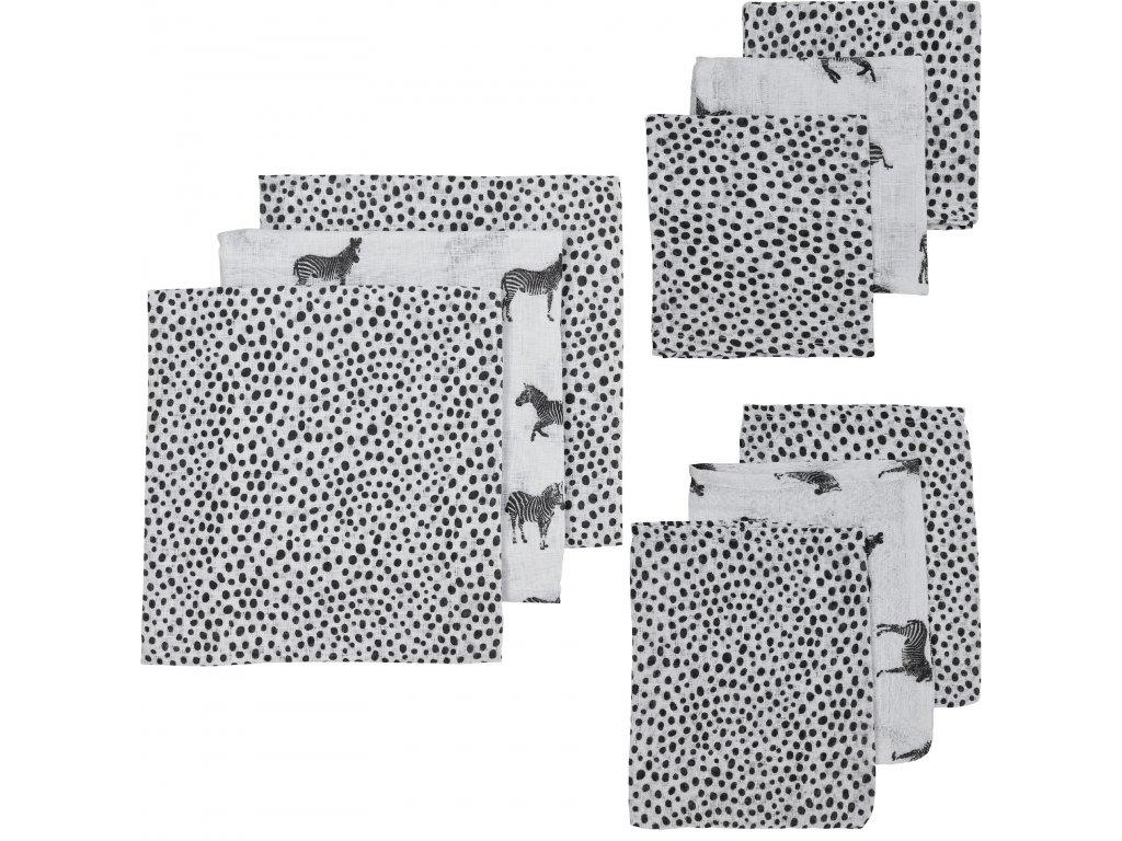 450340 Meyco hydrofiel startersset zebra animal black