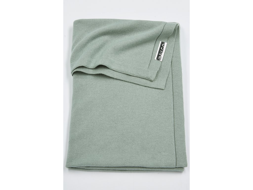 Resize of 2733022 2753022 meyco deken knit basic stone green g 30574072907 o