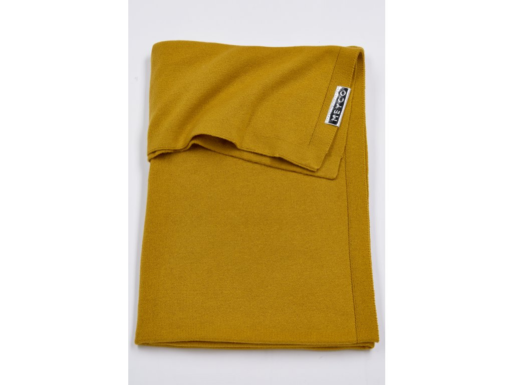 Resize of 2733023 2753023 meyco deken knit basic okergeel g 30574066927 o