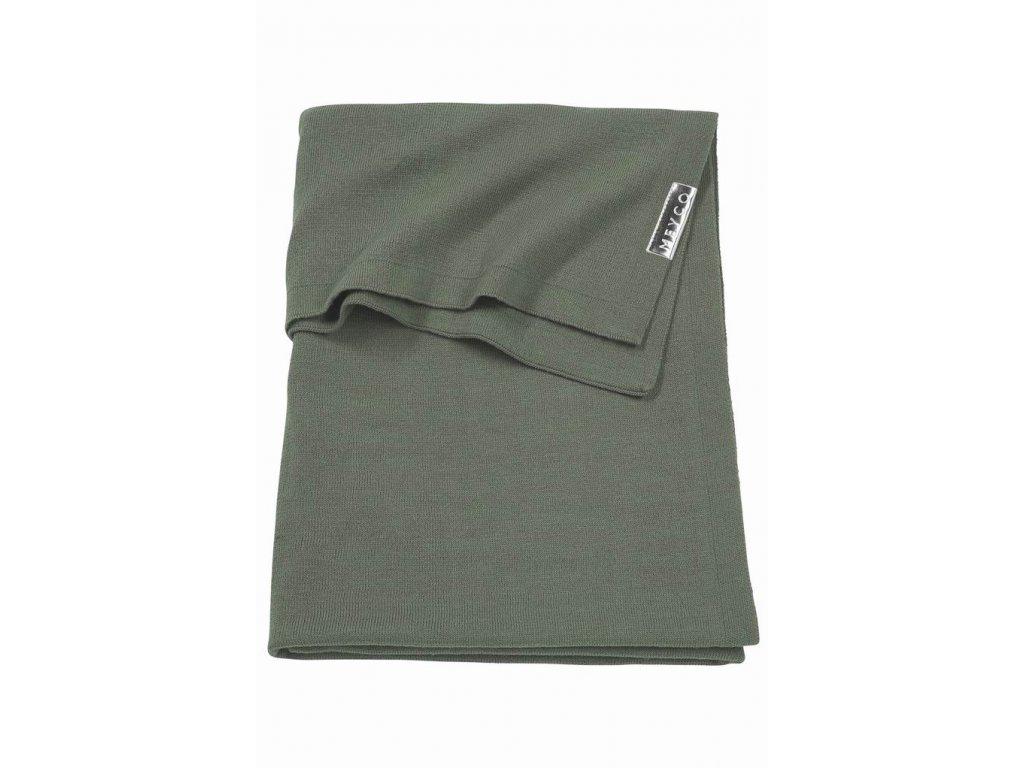 Resize of 2733032 2753032 meyco deken knit basic forest green g 47325134122 o