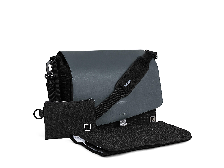 Přebalovací taška - Black/Antra