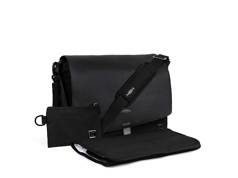 Přebalovací taška - Black/Black
