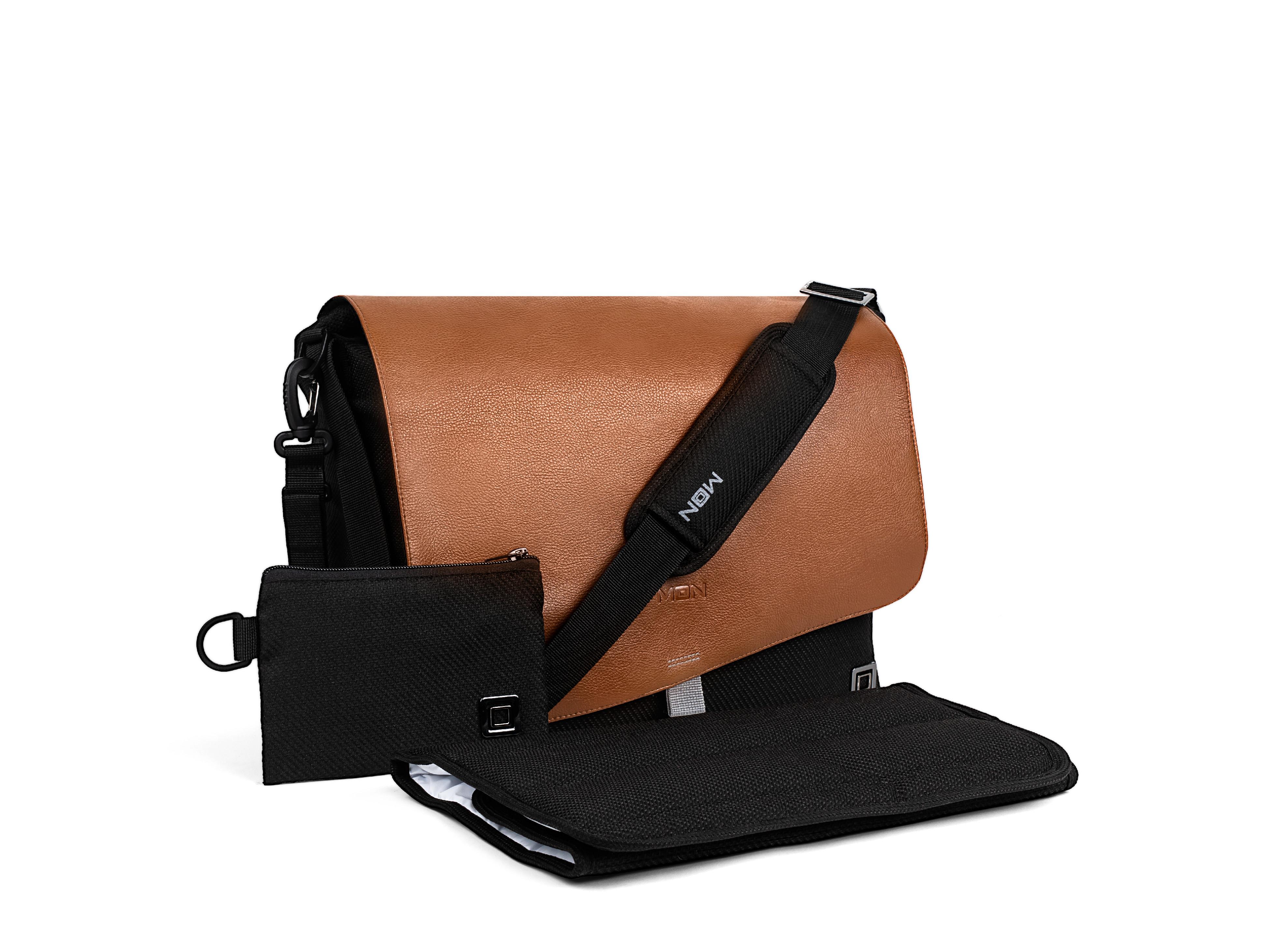 Přebalovací taška - Black/Brown