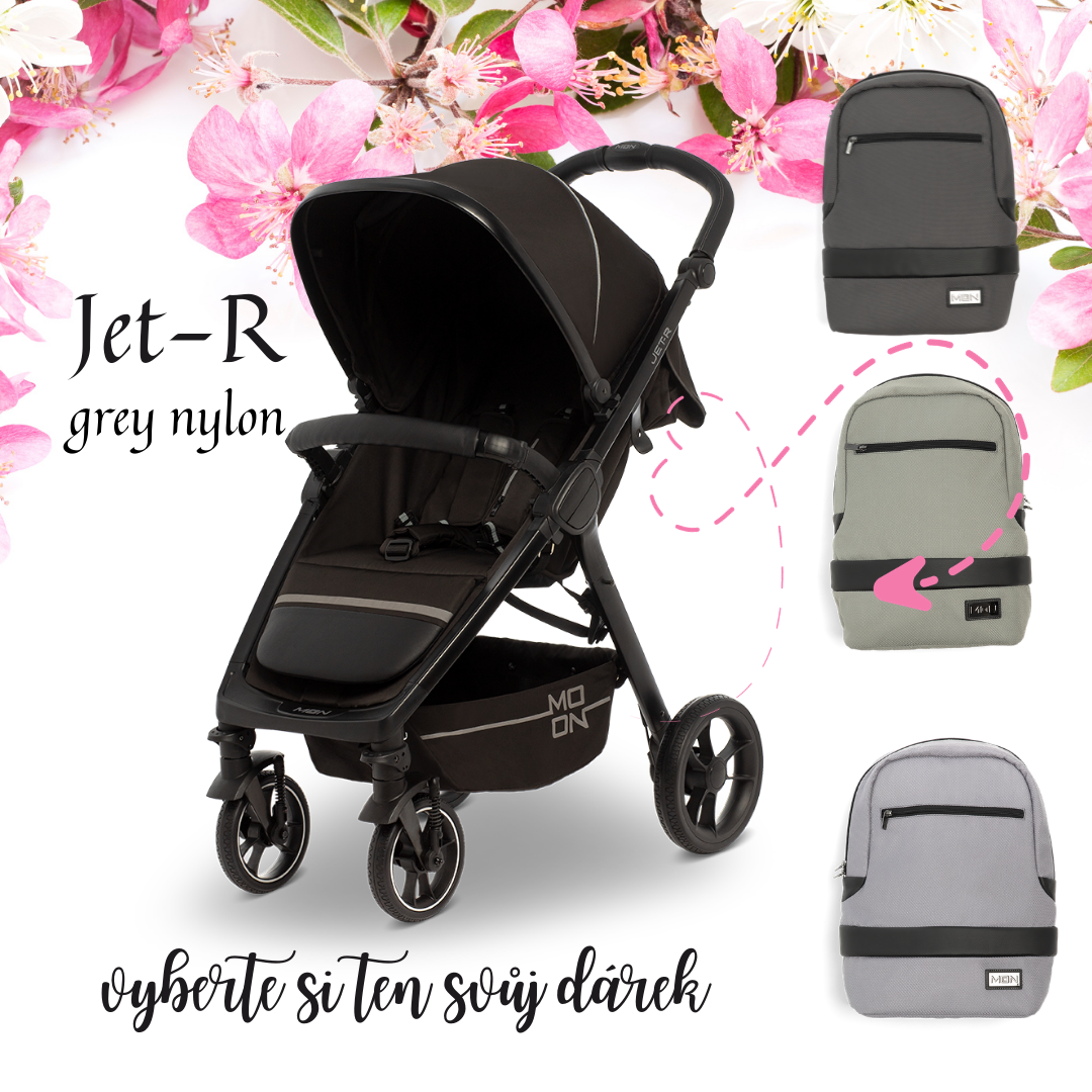 Jet-R - Grey nylon