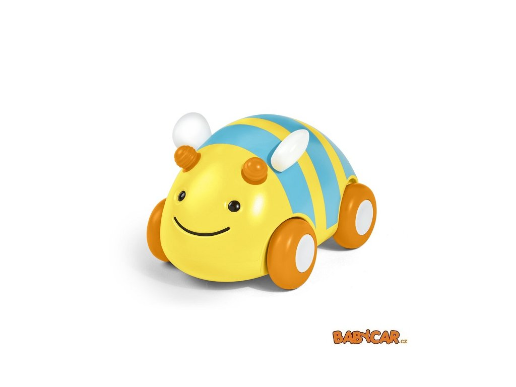 SKIP HOP hračka autíčko Explore&More Včelka