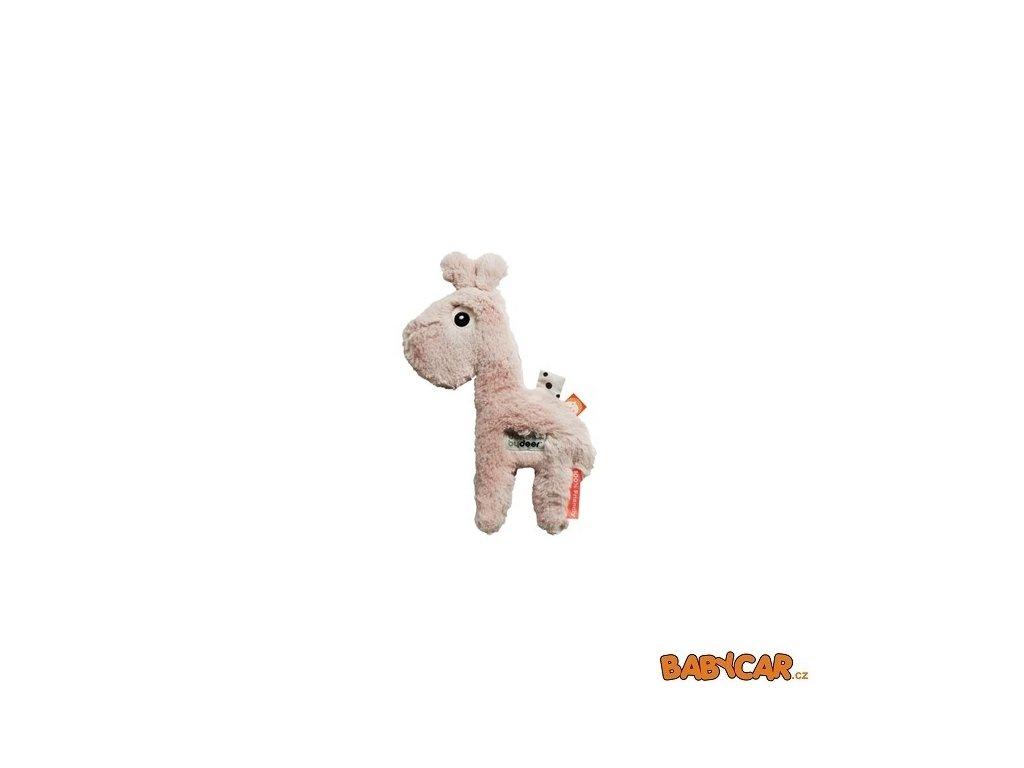 DONE BY DEER mazlivá hračka malá RAFFI Růžová