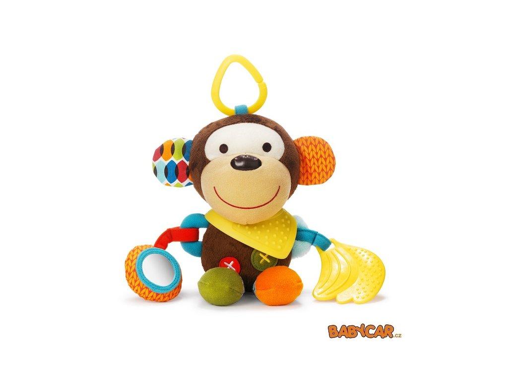 SKIP HOP hračka na C-kroužku BUNDANA BUDDIES Opička