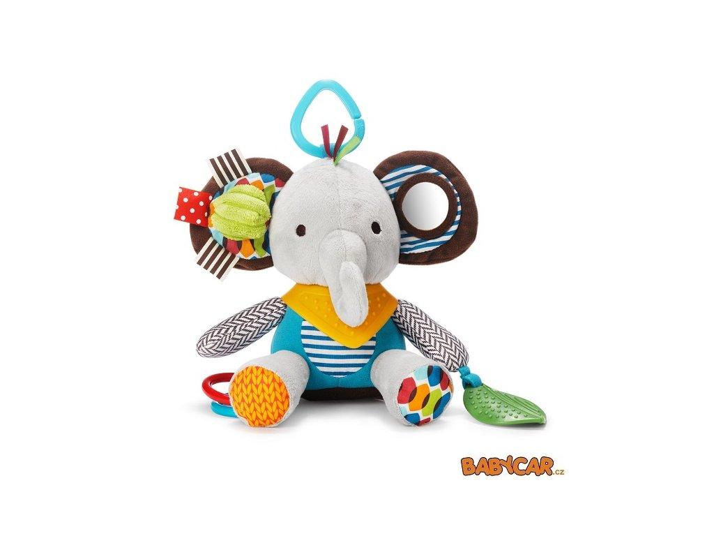 SKIP HOP hračka na C-kroužku BUNDANA BUDDIES Sloník