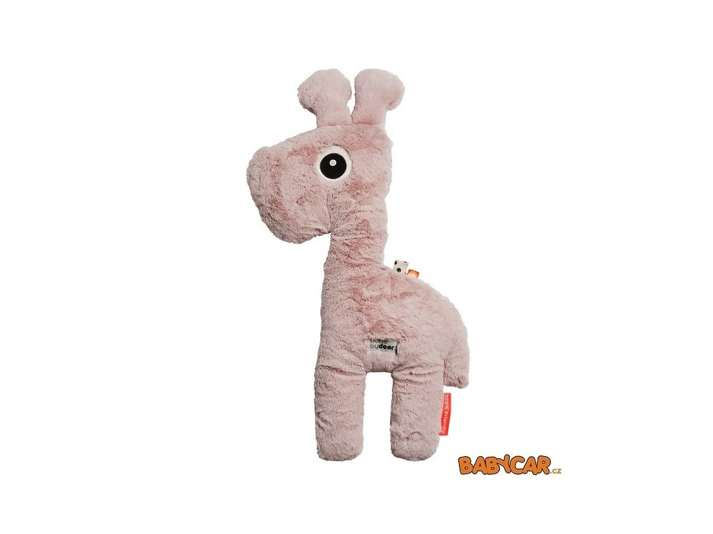 DONE BY DEER mazlivá hračka velká RAFFI Růžová