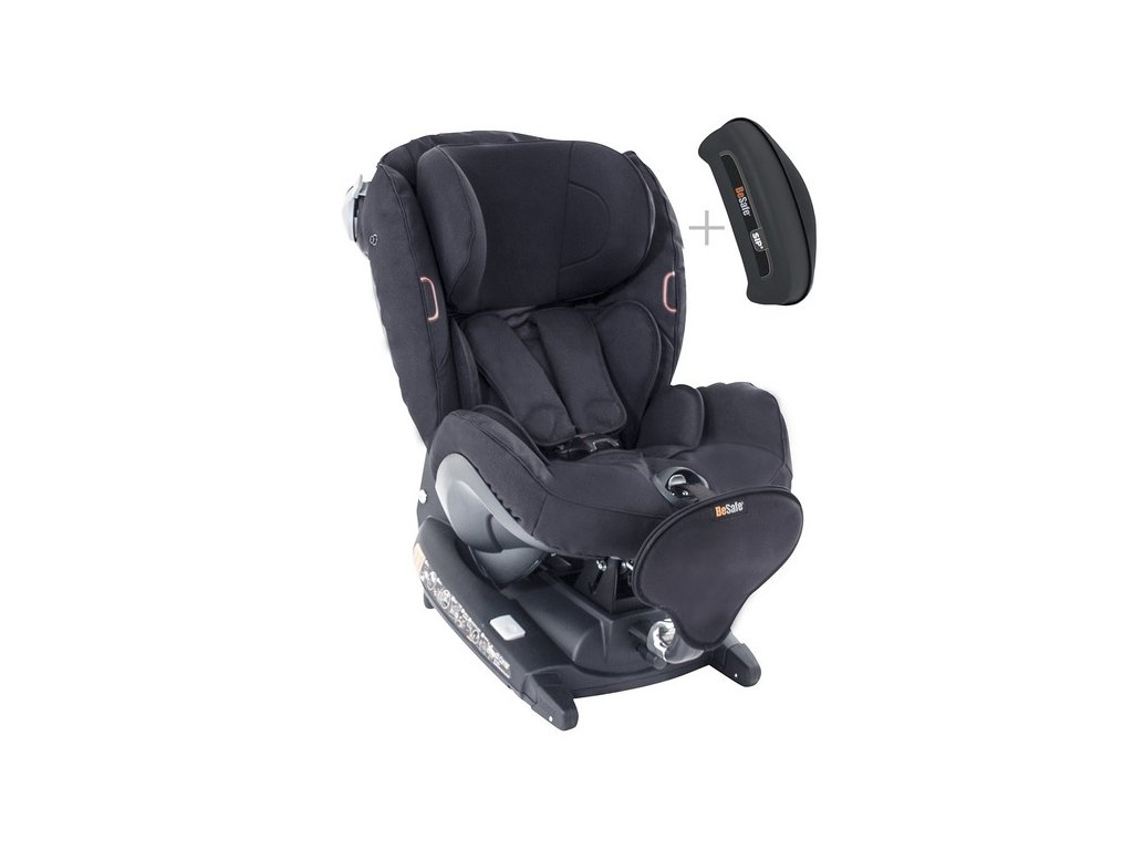 BESAFE autosedačka IZI COMBI X4 ISOFIX 2020 Black Cab