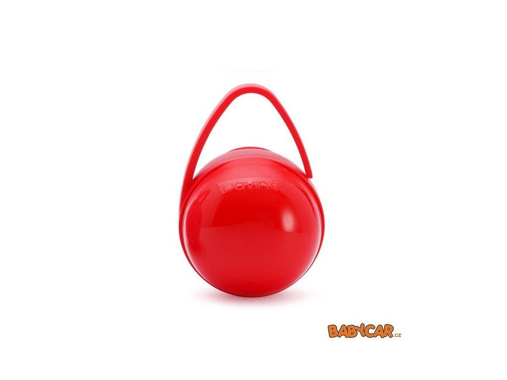 SUAVINÉX krabička na dudlík DUO Červená