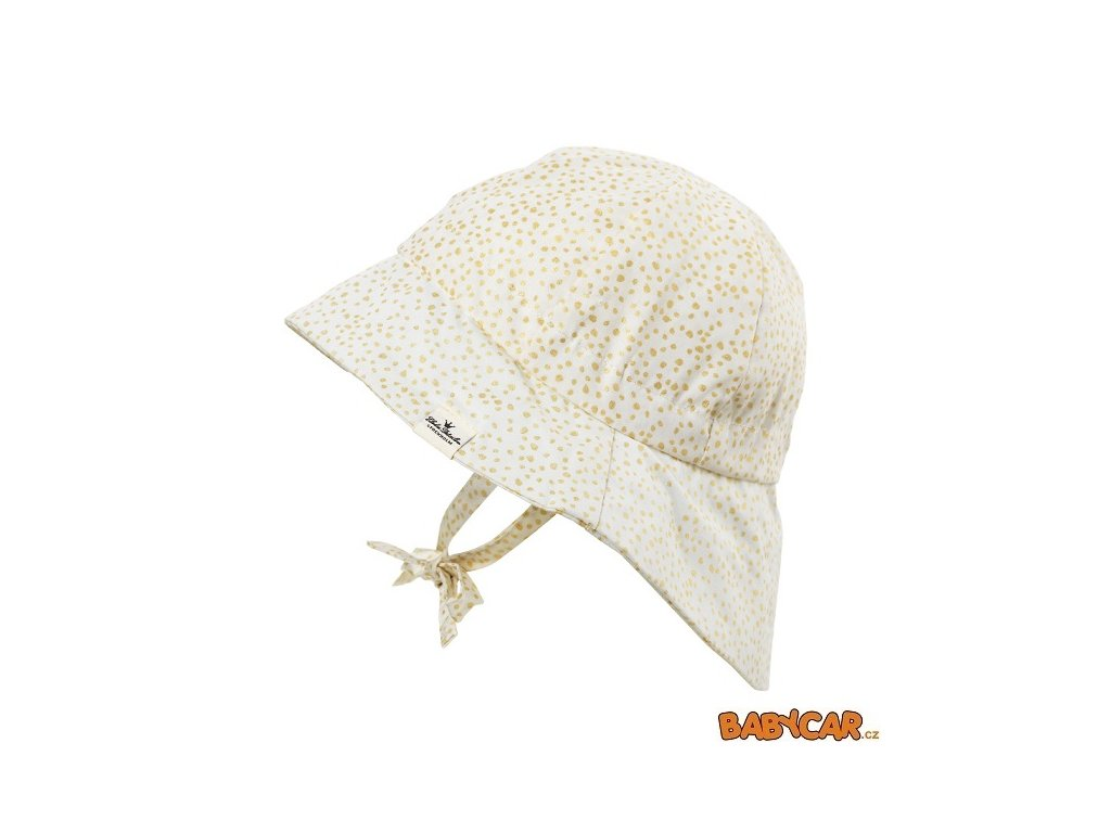 ELODIE DETAILS klobouček SUN HAT Gold Shimmer 24-36m DOPRODEJ!