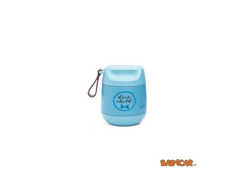 SUAVINÉX termoska na příkrmy MÉĎA MFL Modrá