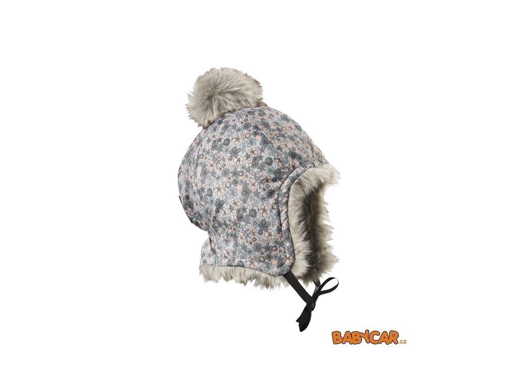 ELODIE DETAILS zimní čepice ušanka CAP Petite Botanic 6-12m DOPRODEJ!