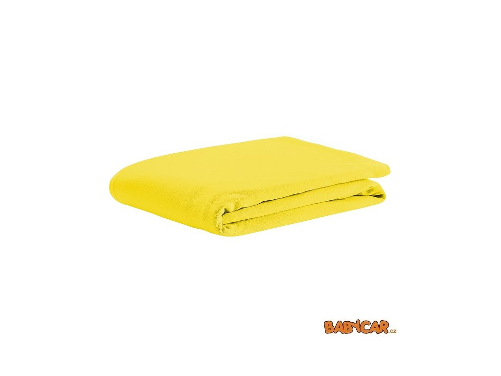 ODENWÄLDER bavlněné prostěradlo UNI Yellow