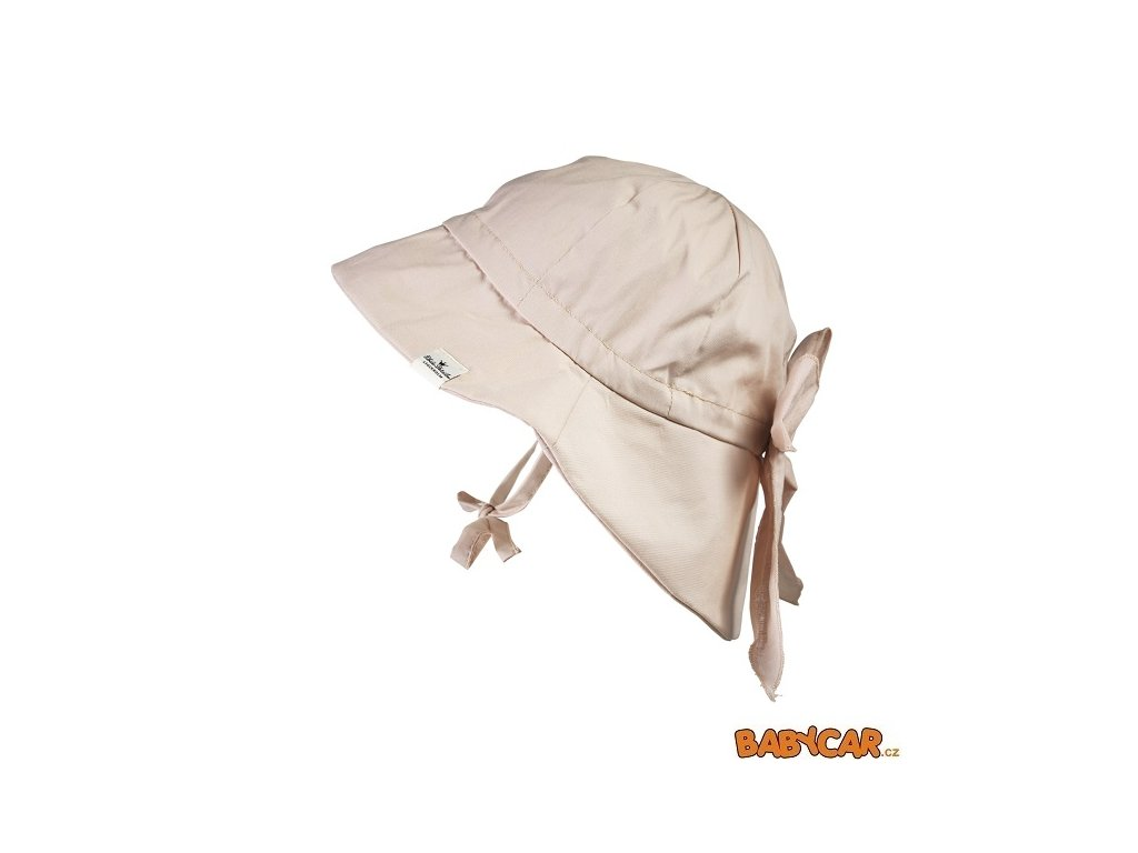 ELODIE DETAILS klobouček SUN HAT Powder Pink 6-12m DOPRODEJ!
