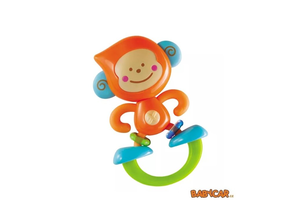 B-KIDS chrastítko Opička