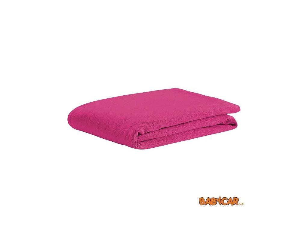 ODENWÄLDER prostěradlo jersey 40x90cm Soft Pink