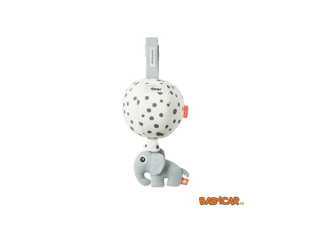 DONE BY DEER hudební hračka BALLOON Happy Dots