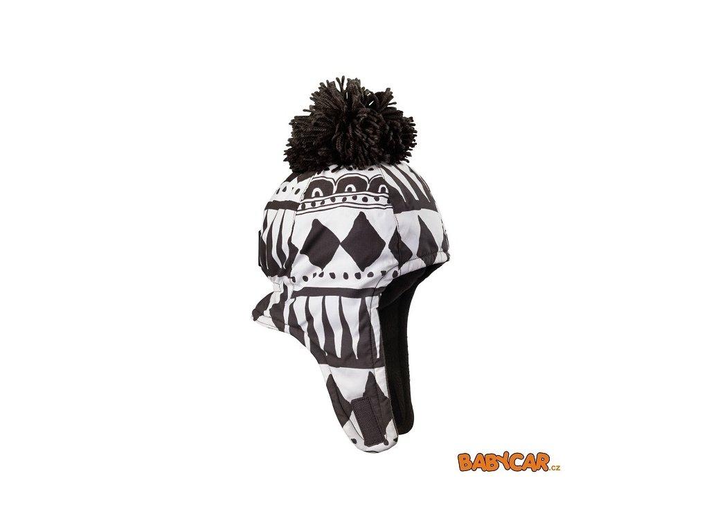 ELODIE DETAILS zimní čepice ušanka CAP Graphic Devotion 6-12m