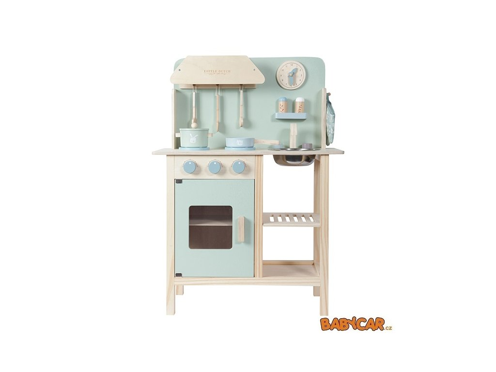 TIAMO dřevěná kuchyňka LITTLE DUTCH Mint