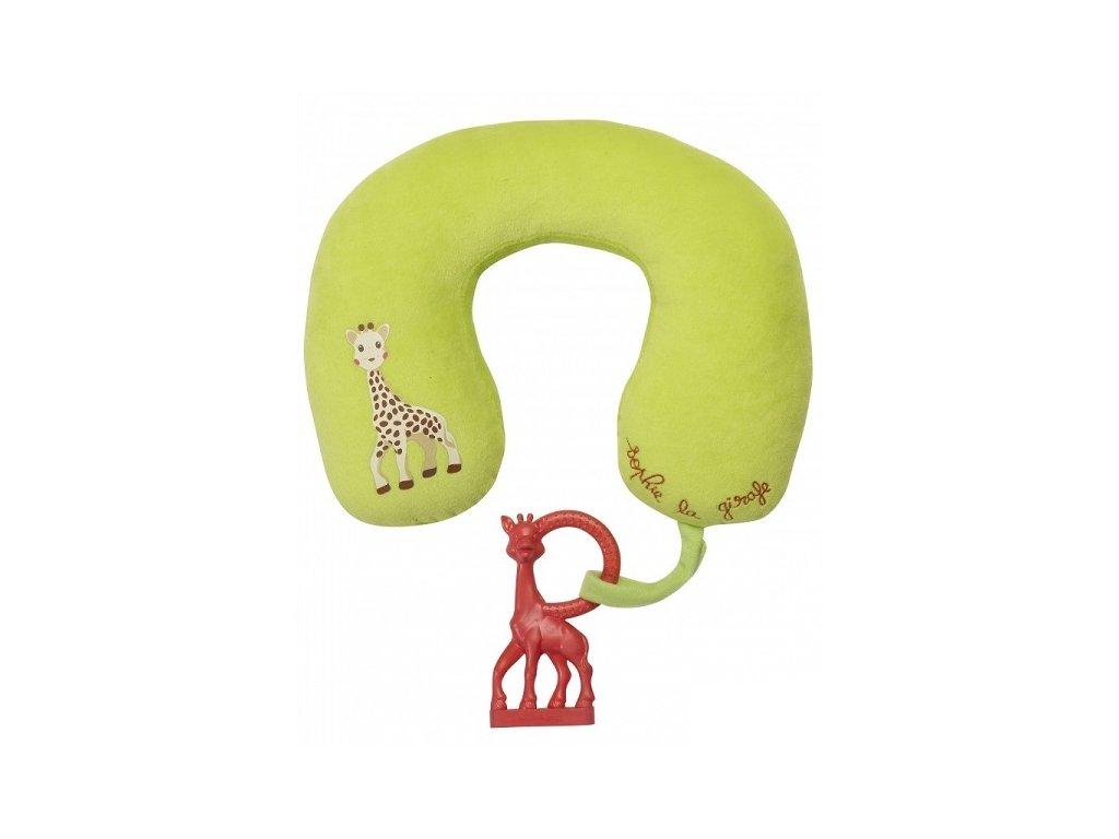 VULLI polštářek s vanilkovým kousátkem žirafa SOPHIE