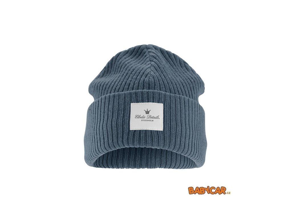 ELODIE DETAILS vlněná čepice WOOL CAP Tender Blue 6-12m DOPRODEJ!