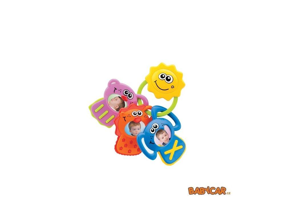 B-KIDS hudební chrastítko s fotkami