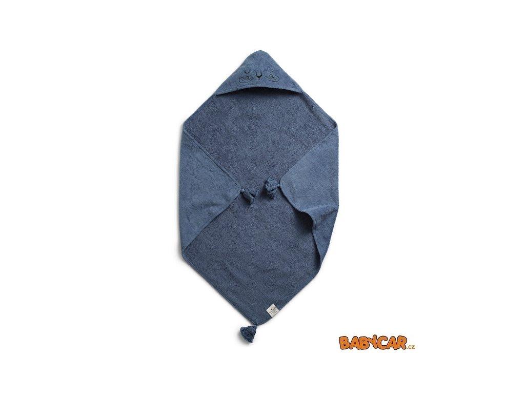 ELODIE DETAILS osuška s kapucí HOODED TOWEL Tender Blue DOPRODEJ!