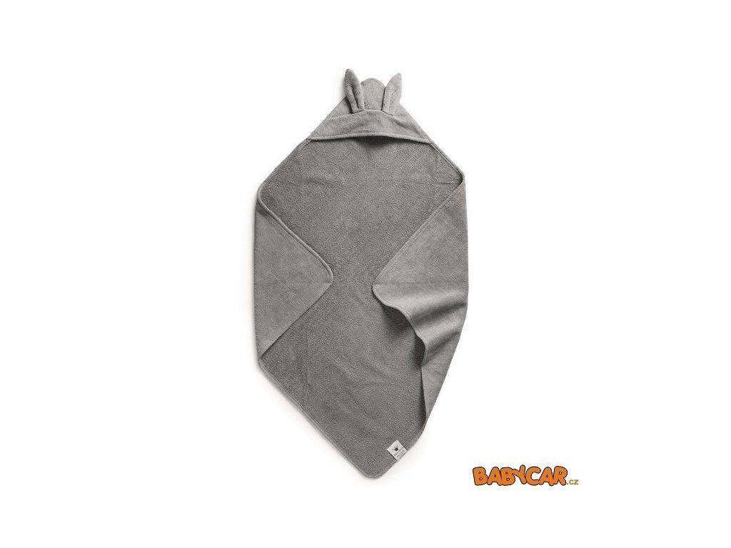 ELODIE DETAILS osuška s kapucí HOODED TOWEL Marble Grey DOPRODEJ!