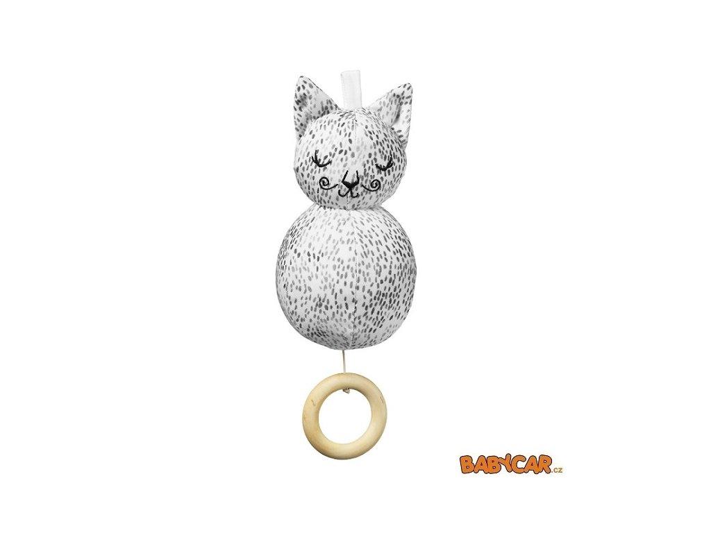 ELODIE DETAILS hudební hračka MUSICAL TOY Dots Of Fauna Kitty