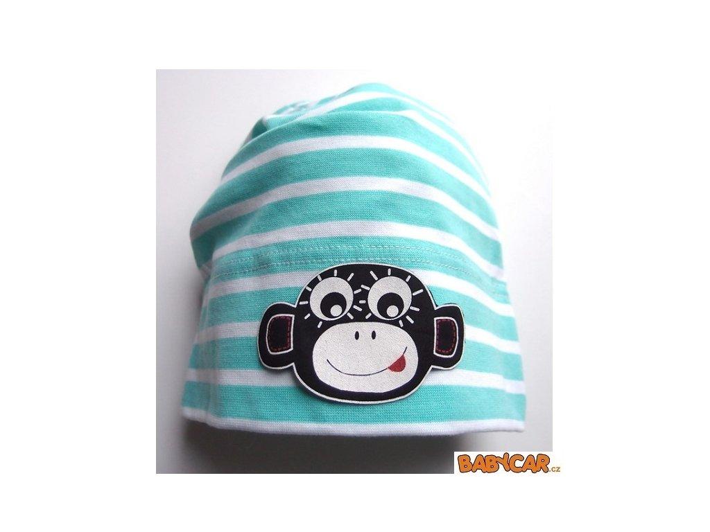 PINKIE čepice Menthol Strips Monkey 1-3roky