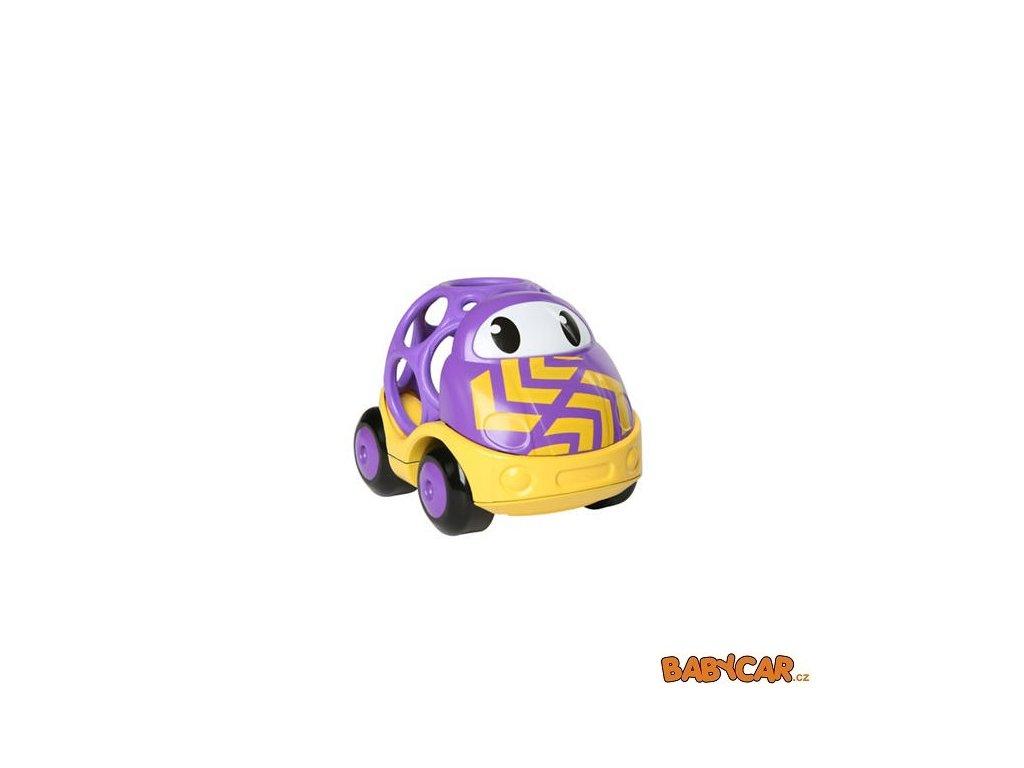 OBALL autíčko GO GRIPPERS CUSTOM RIDES 1ks Fialová/Žlutá