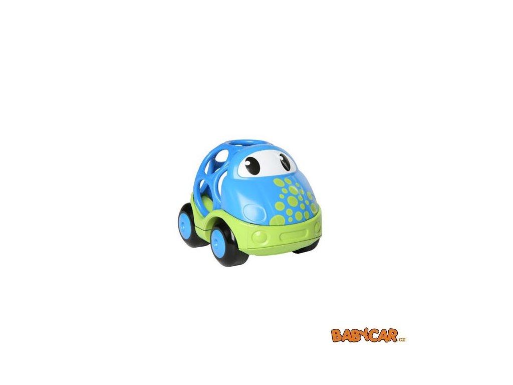 OBALL autíčko GO GRIPPERS CUSTOM RIDES 1ks Modrá/Zelená