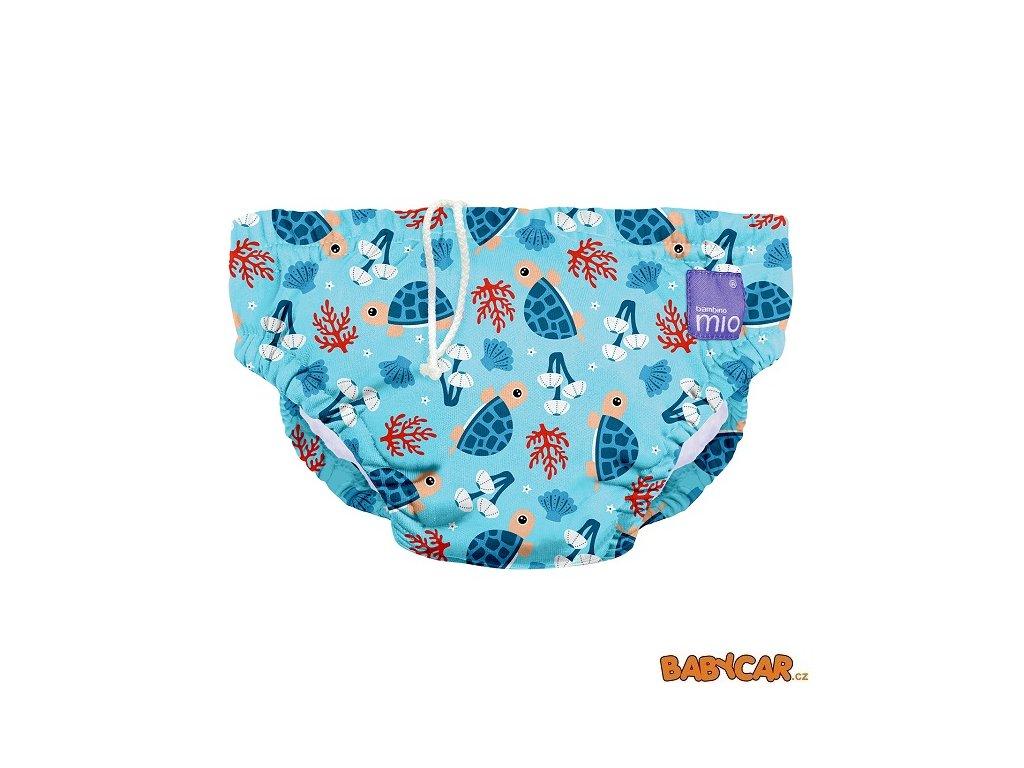 BAMBINO MIO koupací kalhotky SWIM NAPPY L 9-12kg Turtle Bay