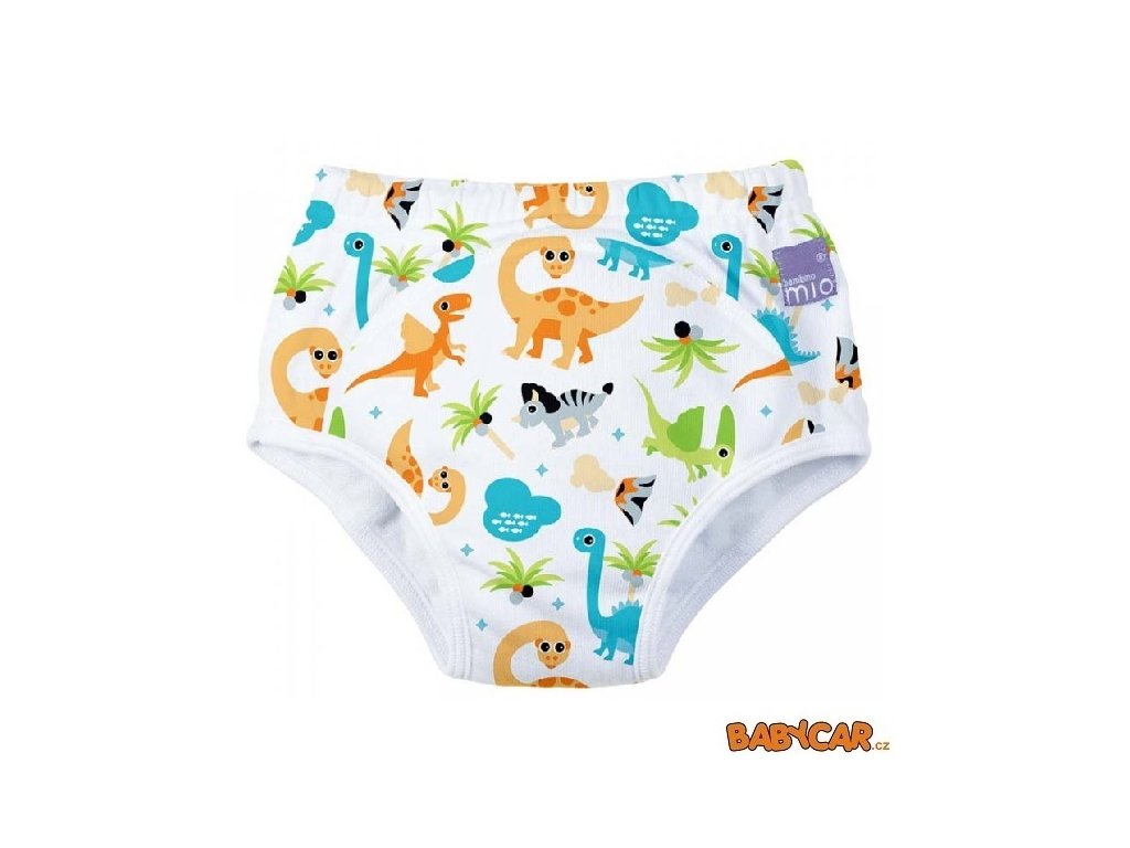 BAMBINO MIO učící plenky TRAINING PANTS 18-24m Dino
