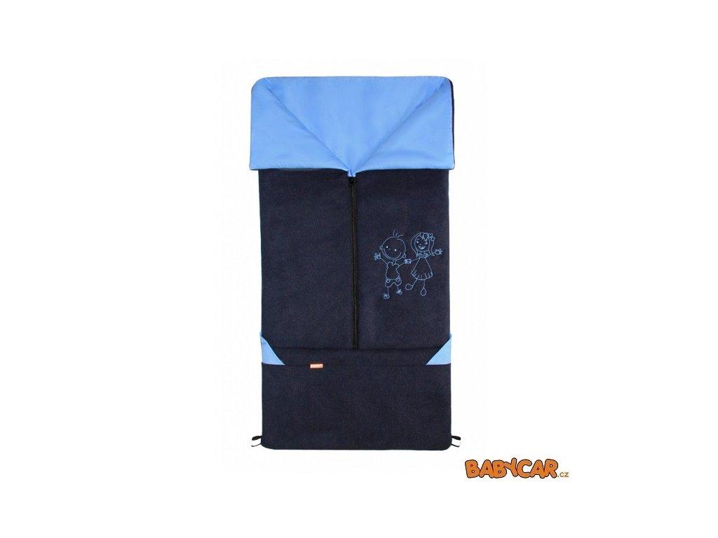 EMITEX fusak 2v1 FANDA Tmavě Modrá/Světle Modrá
