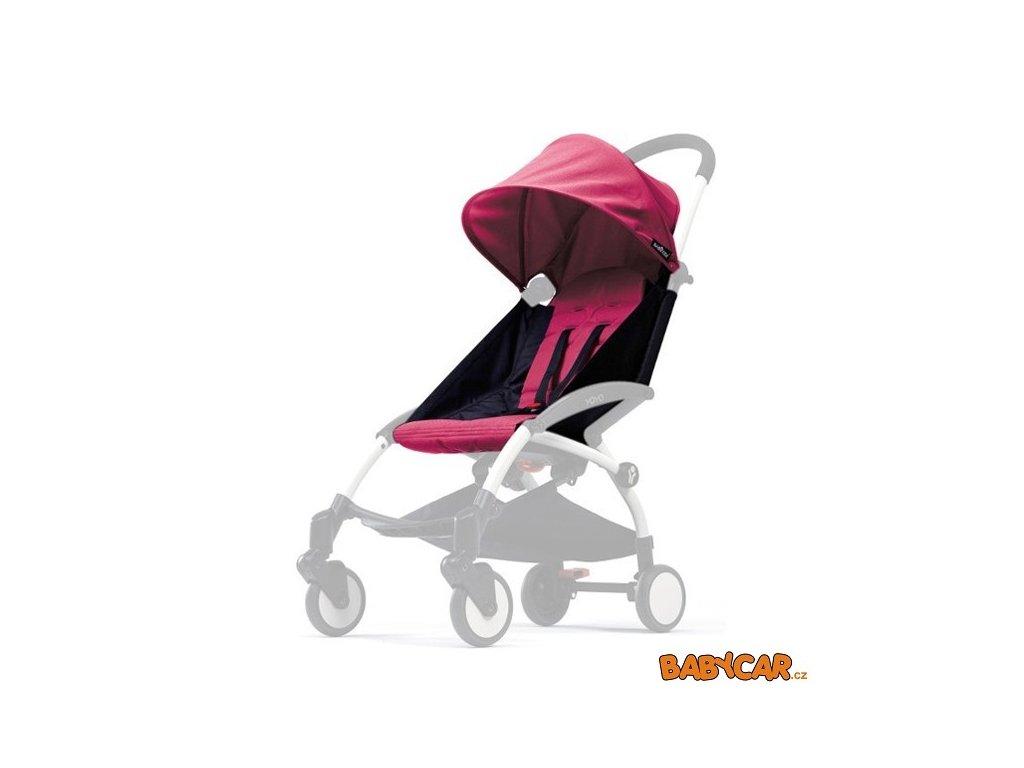 BABYZEN color pack bouda + podložka YOYO Pink DOPRODEJ!