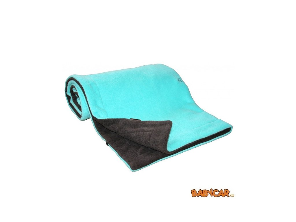 EMITEX deka FLEECE 70x100cm Antracit/Aqua