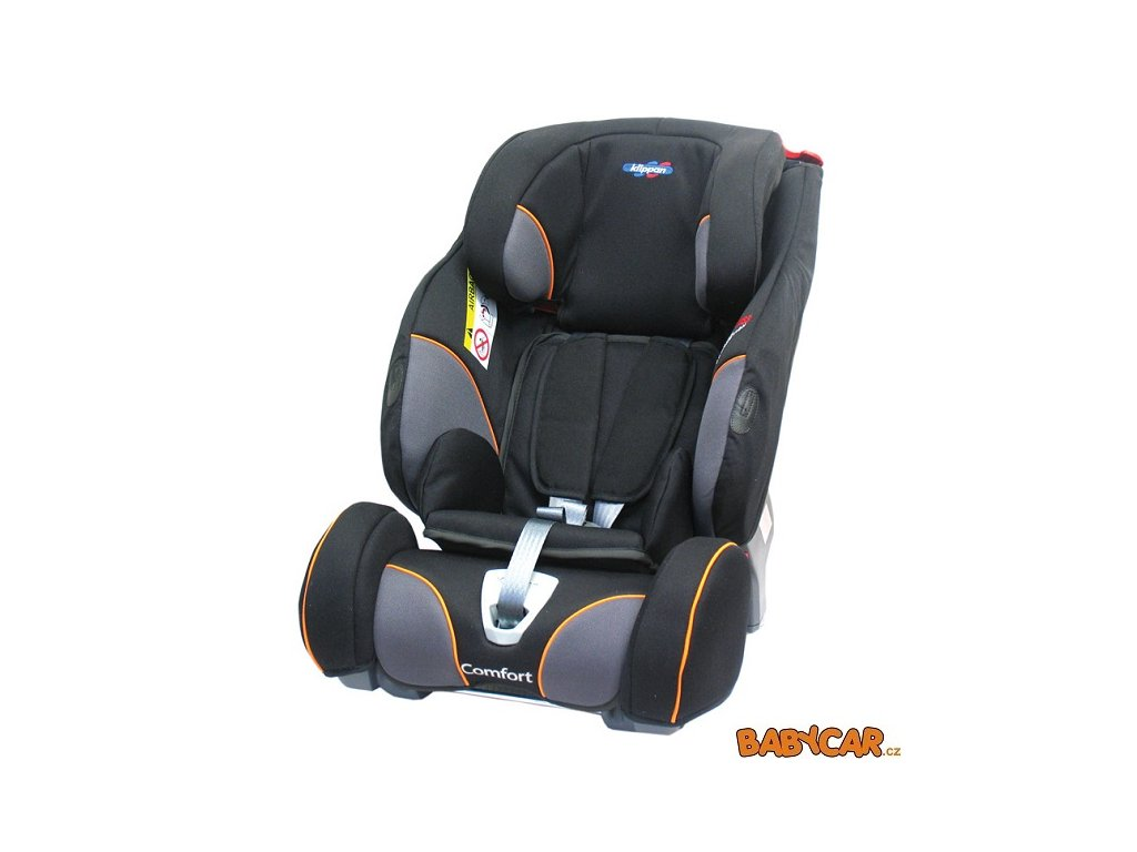 KLIPPAN autosedačka TRIOFIX COMFORT Black Orange