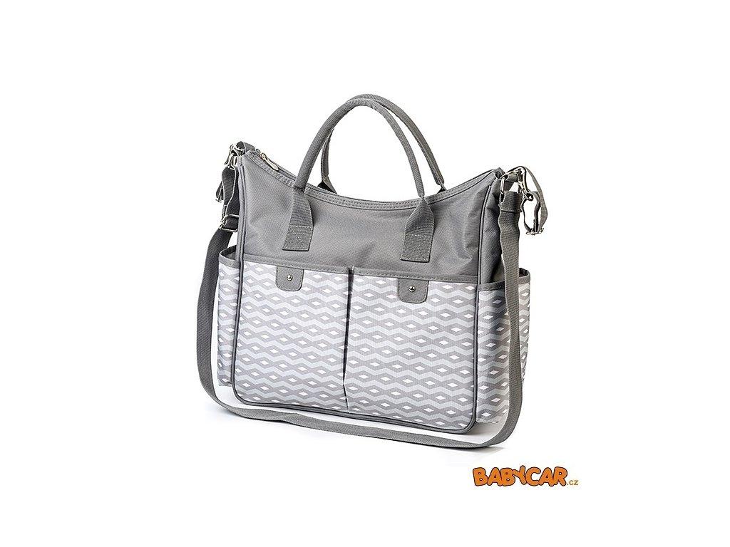 BABYONO přebalovací taška SO CITY! Grey