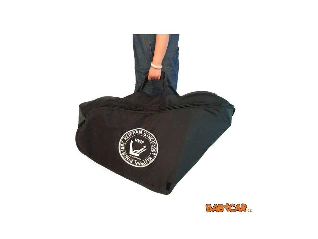 KLIPPAN přepravní taška a chránič sedadla v jednom