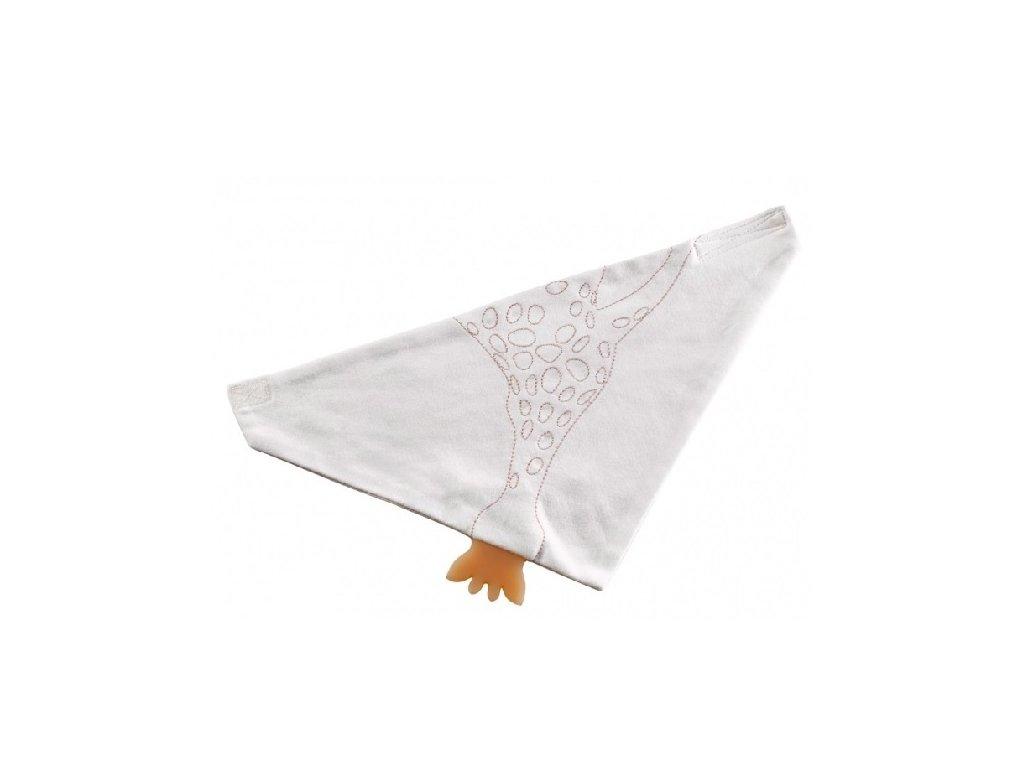 VULLI šátek s kousátkem SO'PURE