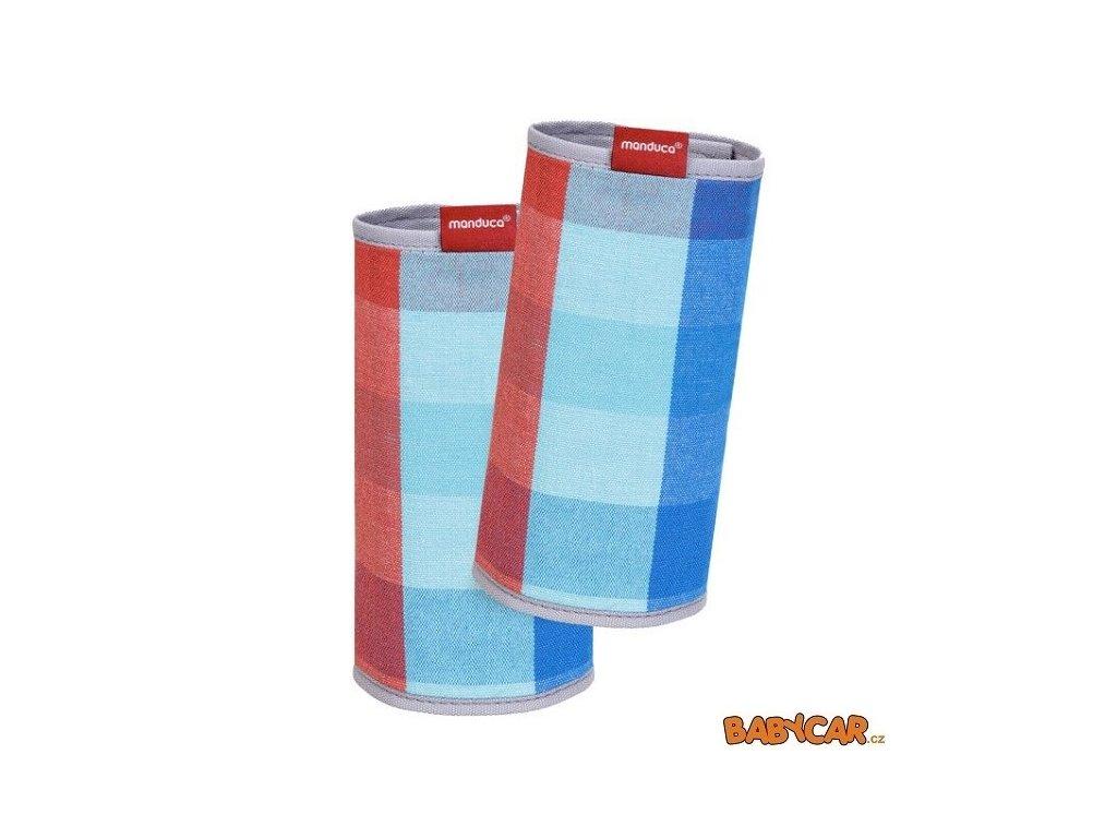 MANDUCA ochranné návleky na popruhy FUMBEE VIVID Red