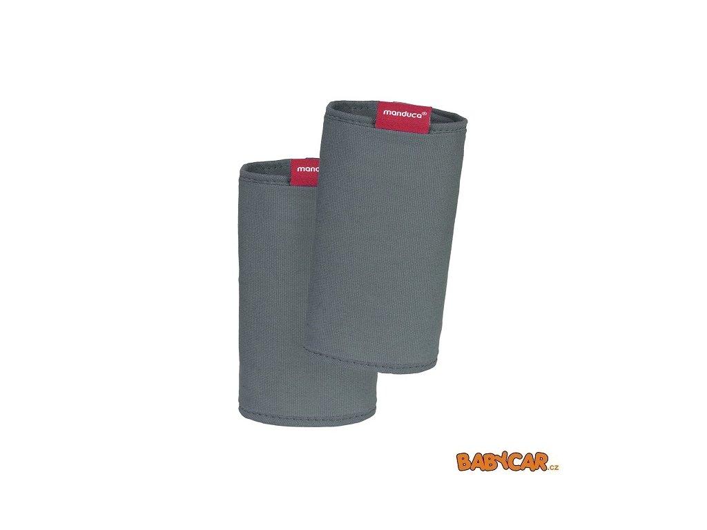 MANDUCA ochranné návleky na popruhy FUMBEE SPECIAL EDITION CZ Dark Grey
